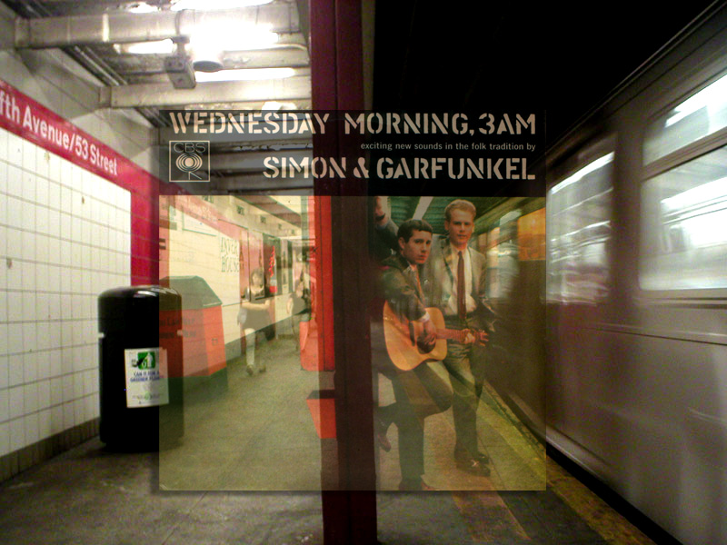 Lugar donde se hizo la foto de Simon&Garfunkel en Wednesday Morning, 3 AM