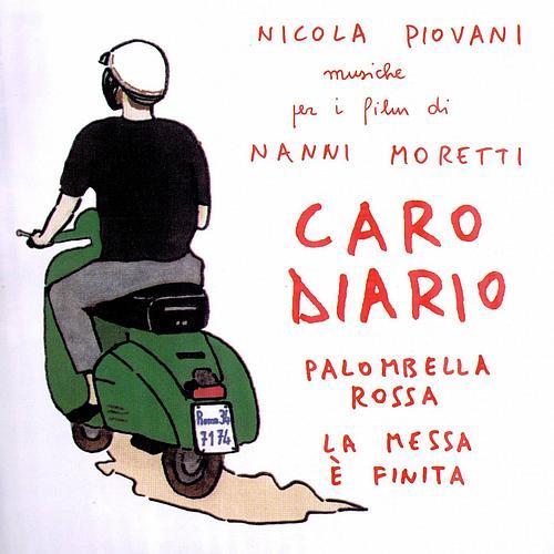 "Cartel de la película ""Caro Diario"" de Nani Moretti, Roma"