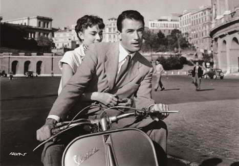 """Fotograma de la película """"Vacaciones en Roma"""""""