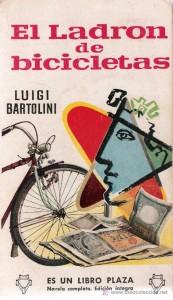 El libro Ladrón de Bicicletas, de Luigi Bartolini