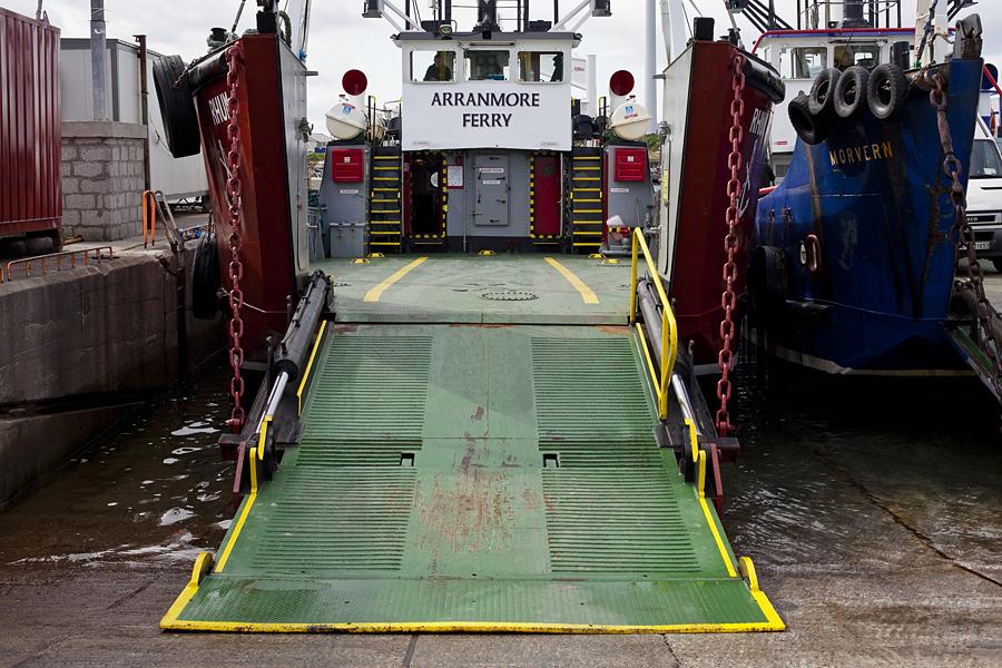 Ferry desde Buttonport a Arranmore Island, Donegal, Irlanda