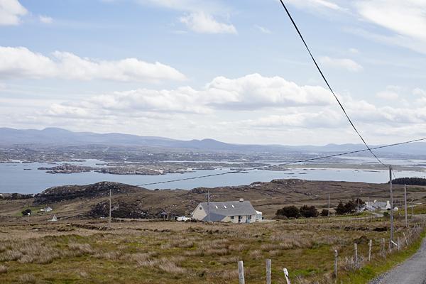 Paisaje de Arranmore Island, Donegal, Irlanda
