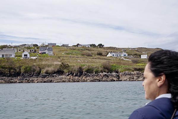 Perfil de la Isla de Arranmore, Donegal, Irlanda