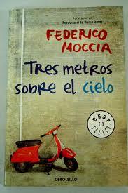 El libro Tres metros sobre el cielo de Federico Moccia