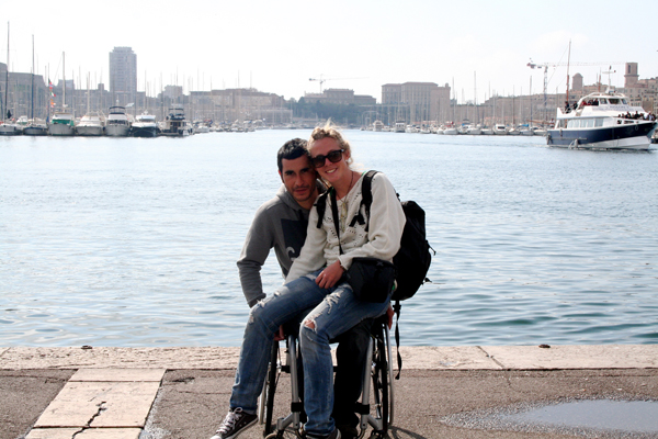 Pablo y Sara de WheelTravels, turismo accesible