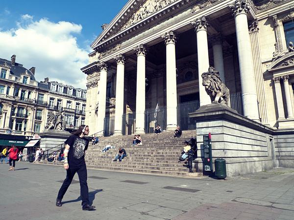 Edificio de la Bolsa, Bruselas