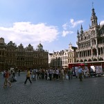 Vista de la Grand Place, Bruselas