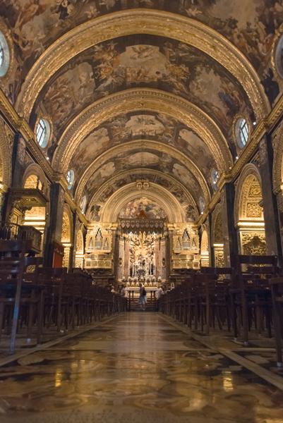 Catedral San Juan, La Valletta