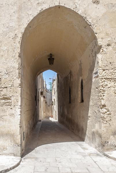 Calles de la Mdina en Malta