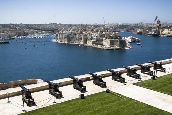 Jardines Upper Barakka, Malta, qué ver en malta