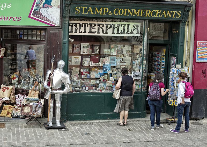 Una tienda en Gante, Flandes, Bélgica