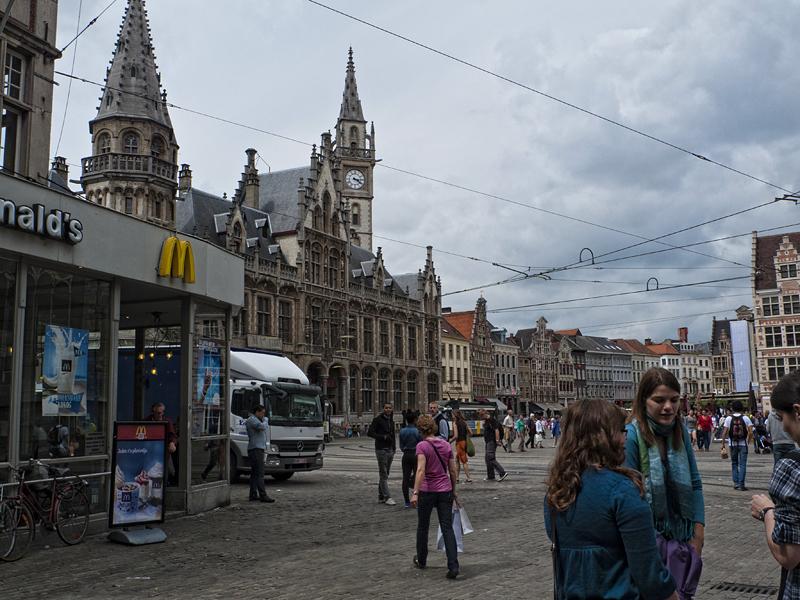 Centro Histórico de Gante, Flandes, Bélgica