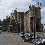Castillo de los Condes, en Gante, Flandes, Bélgica
