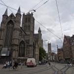 Torres en Gante, Flandes, Bélgica