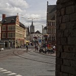 Calles de Gante, Flandes, Bélgica