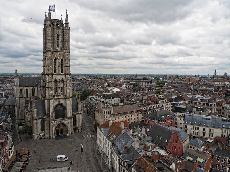 Catedral San Bavón, Gante, Flandes, Bélgica