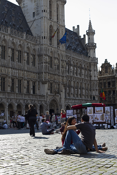 Plaza Mayor, Grand Market en Bruselas, Bélgica