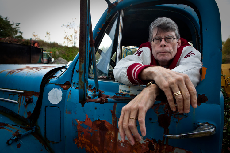 Stephen King en su Bangor natal, Maine