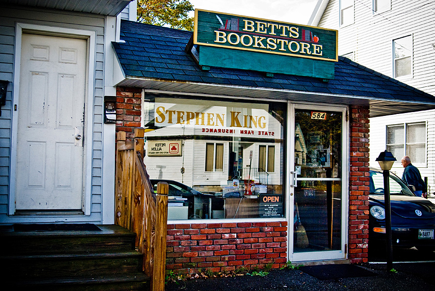 Betts Books, la tienda especializada en Stephen King, Bangor, Maine, Viaje por el Maine de Stephen King