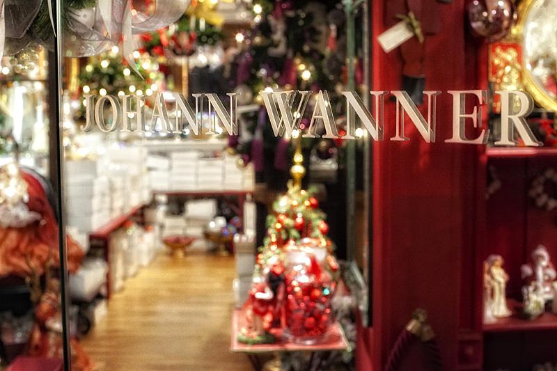 La tienda de Johann Wanenner en Basilea, Suiza