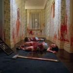 Escena de la película El Resplandor de Kubrik