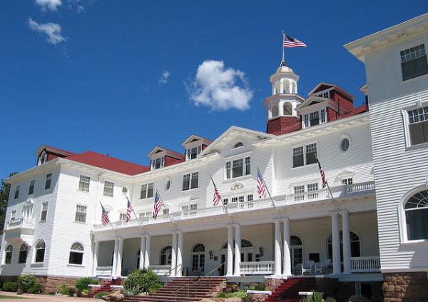 Stanley Hotel, Stephen king escribió parte de El Resplandor, Viaje por el Maine de Stephen King