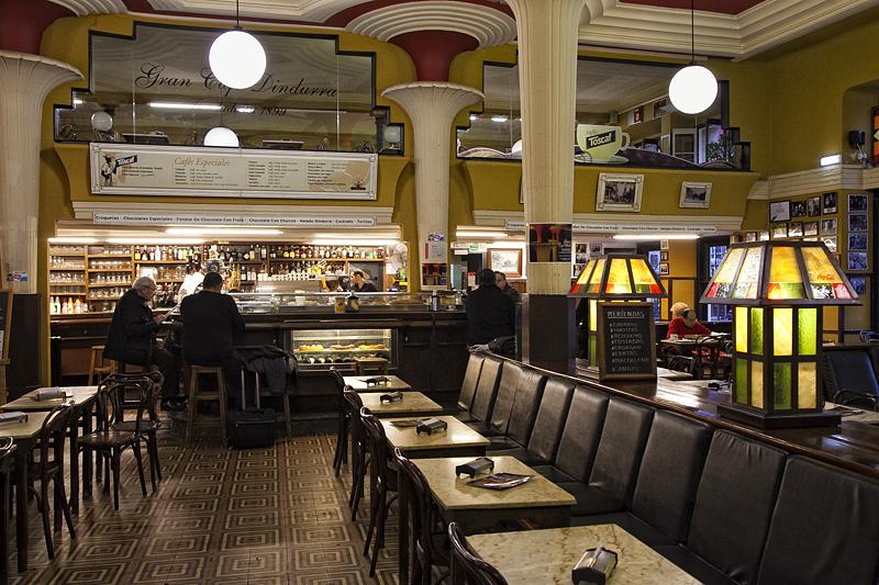 Café Dindurra en Gijón