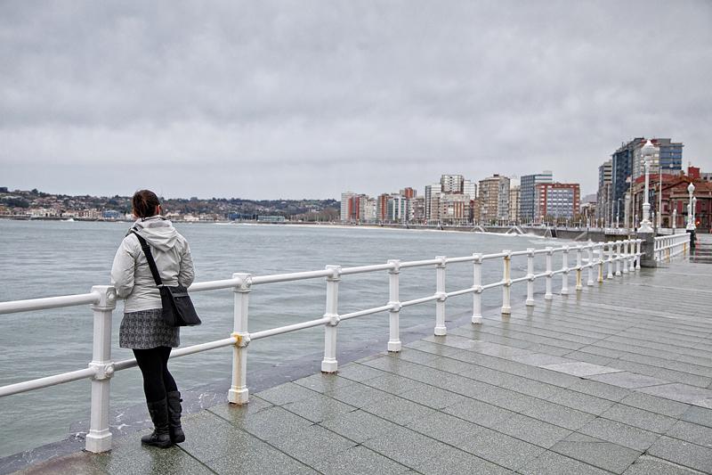 Paseo de San Lorenzo, Gijón