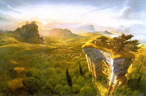 Ilustración de El Señor de los Anillos