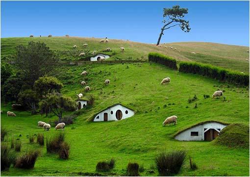 La verdadera Hobbiton en Matamata, Nueva Zelanda, señor de los anillos nueva zelanda