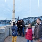 fotos en el puente de Basilea, Suiza