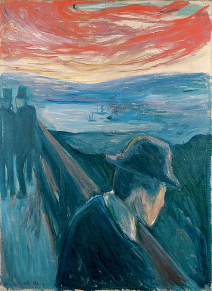 La desesperación, Edward Munch