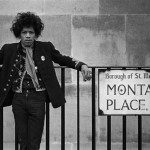 Retrato de Jimi Hendrix en Londres