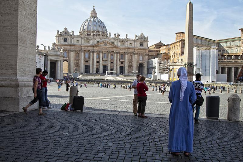 Vaticano, viaje en familia a Roma