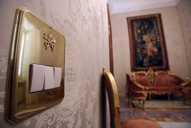 Aposentos interior del Palacio de Castel Gandolfo
