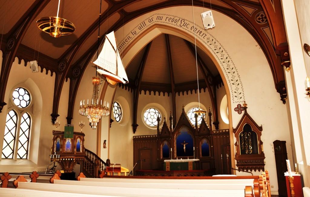Iglesia de Fjällbacka