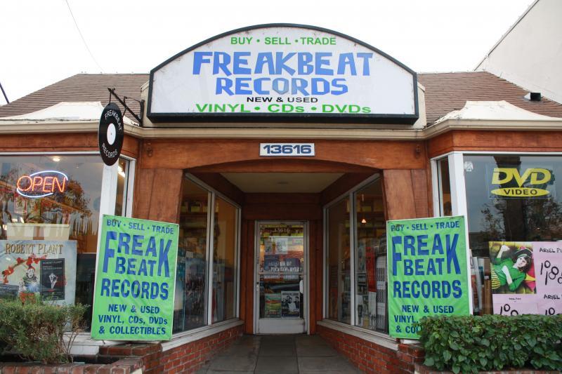 Freakbeat Records, Los Angeles, Vinilos, tiendas de discos