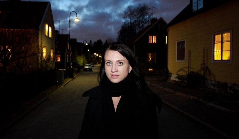 Camilla Lakberg en Fjällbacka