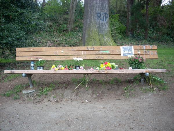 Viretta Park, Kurt Cobain, banco