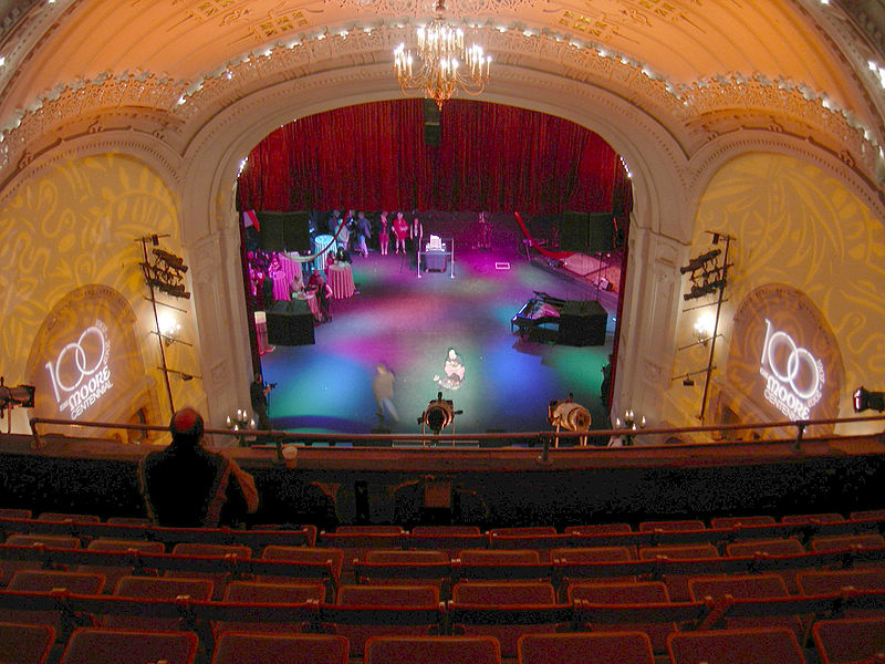 Moore Theater Seattle