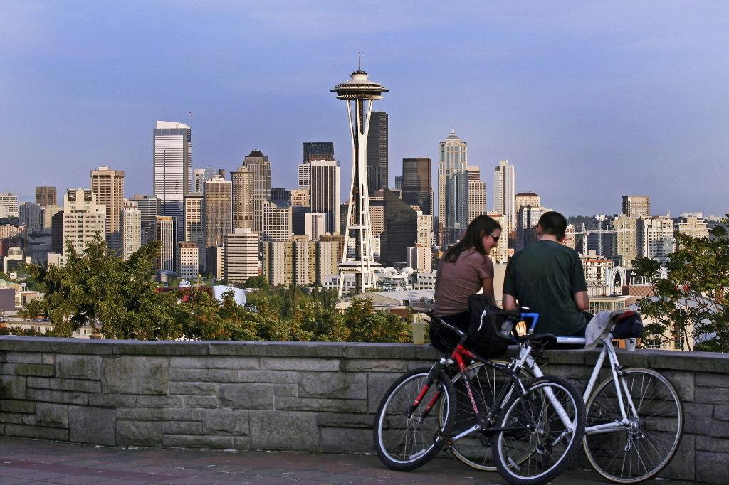 Seattle desde Queen Anne