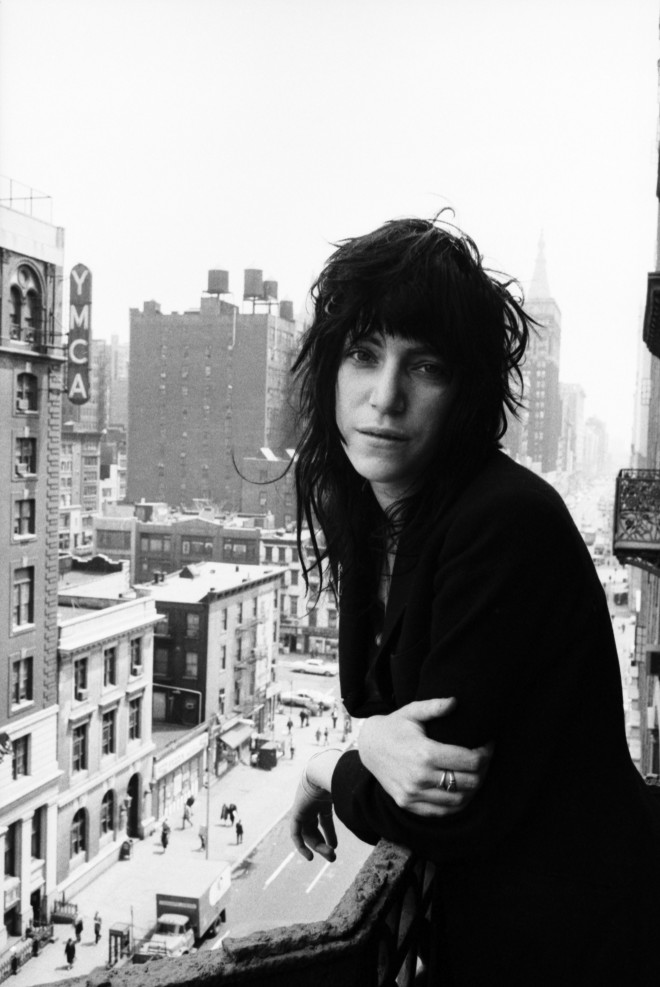 Patti Smith en el Hotel Chelsea, New York