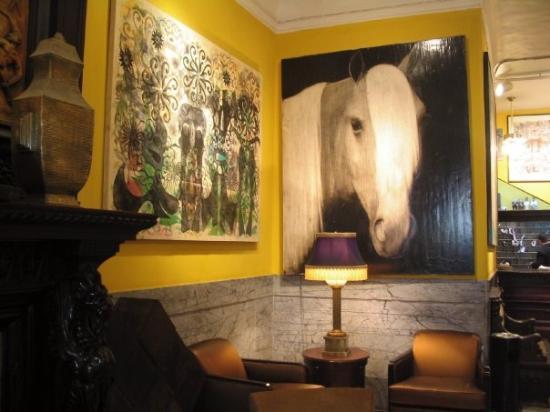 Lobby del Hotel Chelsea, New York, hotel chelsea de nueva york