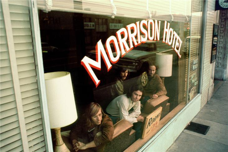 The Doors, Morrison Hotel, Los Angeles, Lugares The Doors en Los Angeles