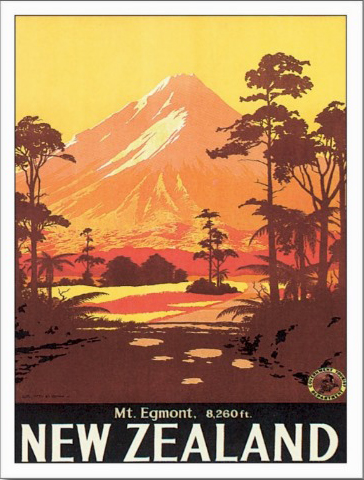 Monte Egmont, Nueva Zelanda