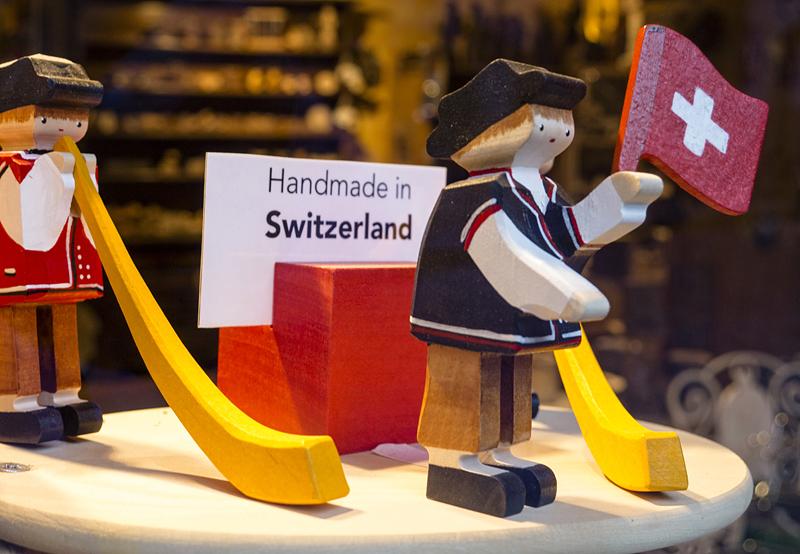 Souvenir de Suiza, Saas Fee