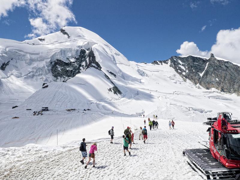 El glaciar Alallin