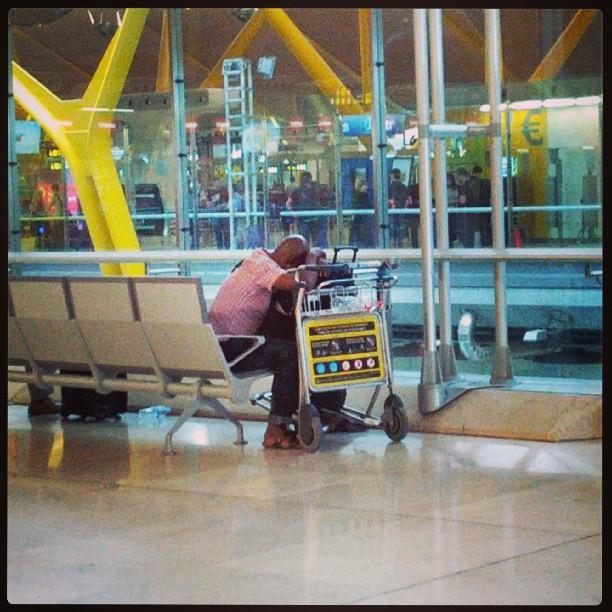 Típica siesta delay flight, cosas que hacer en un aeropuerto