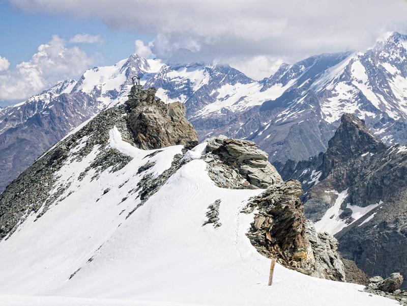Nieve Perpetua en sus picos