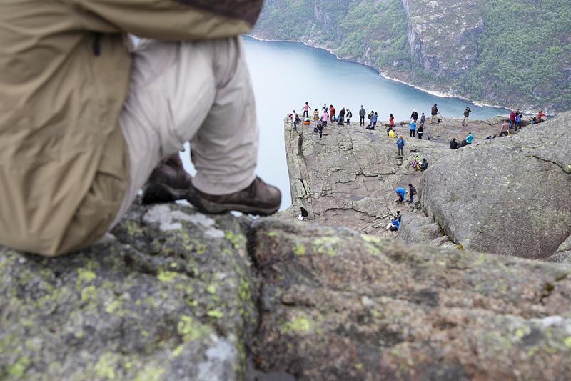 Preikestolen, Noruega, Fiordos, Cómo llegar al Preikestolen-Púlpito en Noruega